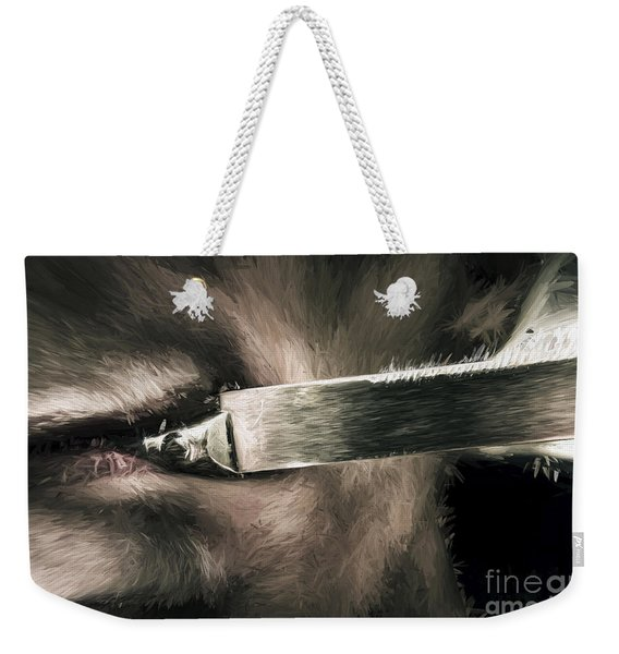 Life In The Knife Trade Weekender Tote Bag