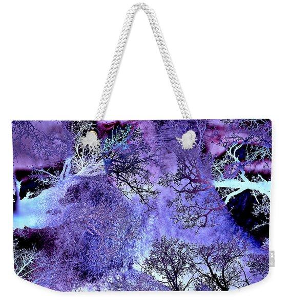 Life In The Ultra Violet Bush Of Ghosts  Weekender Tote Bag
