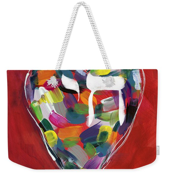 Life Is Colorful - Art By Linda Woods Weekender Tote Bag