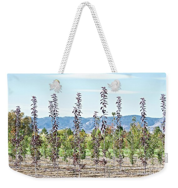 Life On A Tree Farm-foothills View #1 Weekender Tote Bag