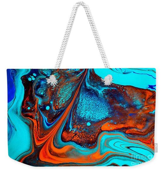 Life On Mars Weekender Tote Bag