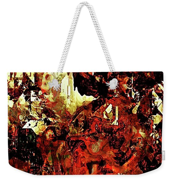 Life On Mars Weekender Tote Bag