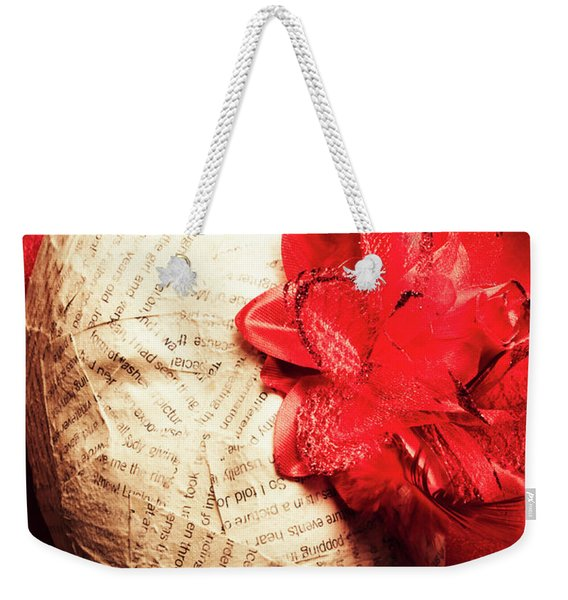 Life Review In Death Weekender Tote Bag