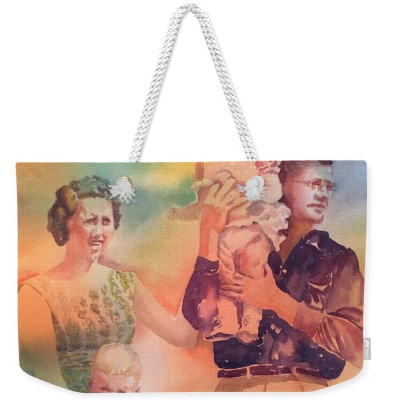 Life Was Good, Circa 1957 Weekender Tote Bag