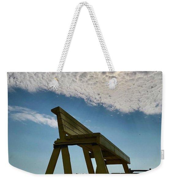 Lifeguard Chair Weekender Tote Bag