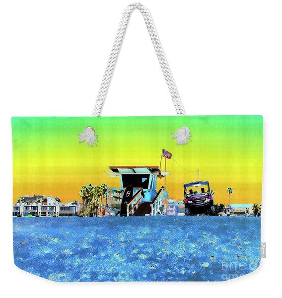 Lifeguard Tower 1 Weekender Tote Bag