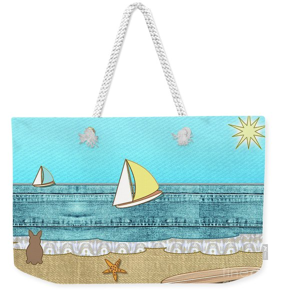 Life's A Beach Weekender Tote Bag