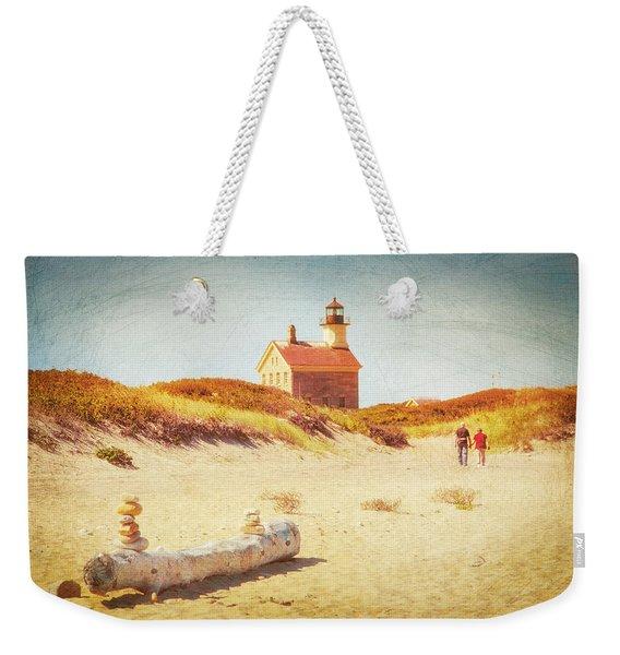 Lifes Journey Weekender Tote Bag
