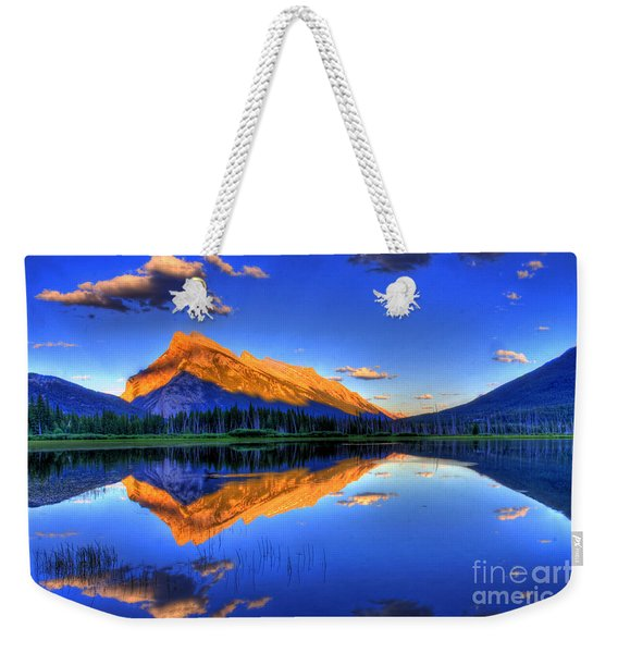Life's Reflections Weekender Tote Bag