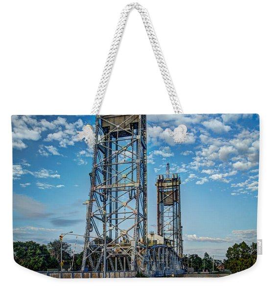 Lift Bridge Weekender Tote Bag
