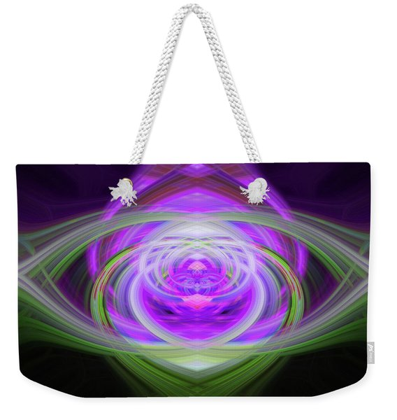 Light Abstract 3 Weekender Tote Bag