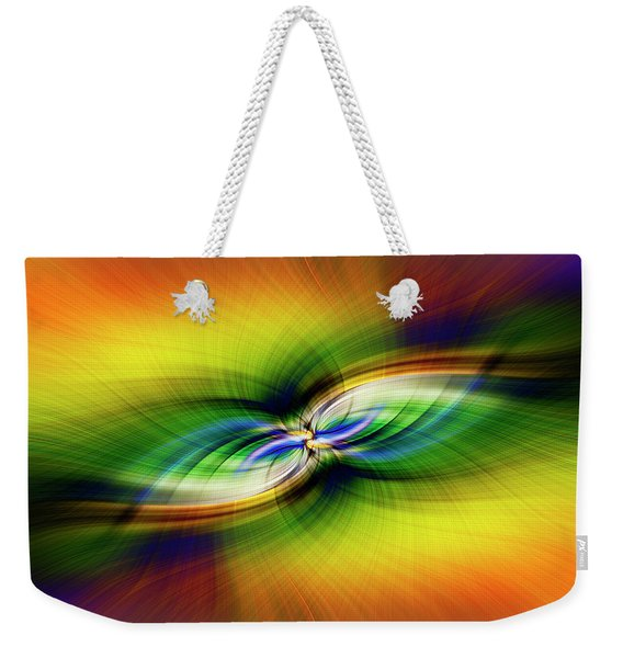 Light Abstract 9 Weekender Tote Bag