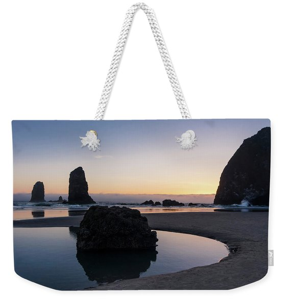 Light And Tide Weekender Tote Bag
