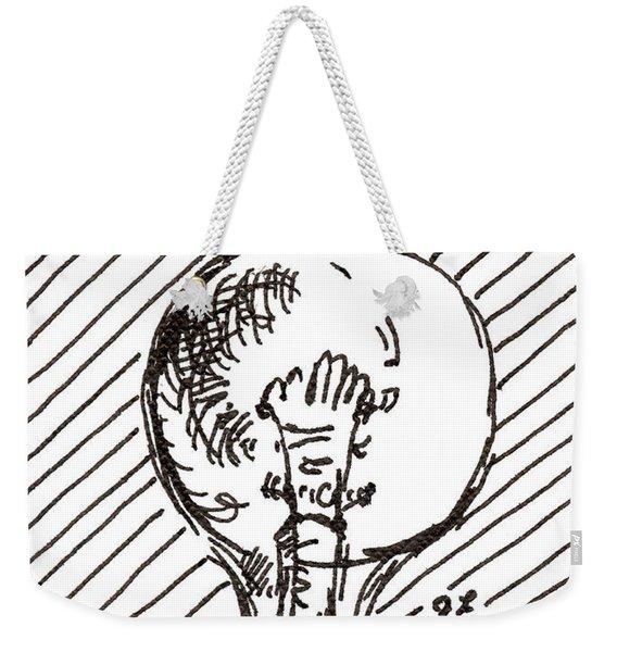 Light Bulb 1 2015 - Aceo Weekender Tote Bag