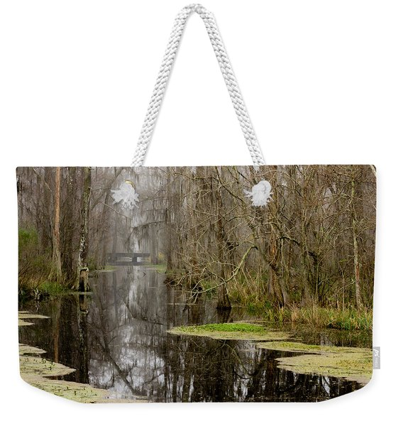 Light Fog On The Swamp Weekender Tote Bag
