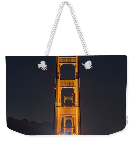 Light Gateway Weekender Tote Bag