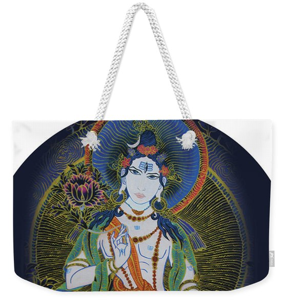 Light Giving Shiva  Weekender Tote Bag