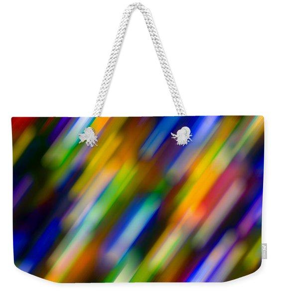 Light In Motion Weekender Tote Bag