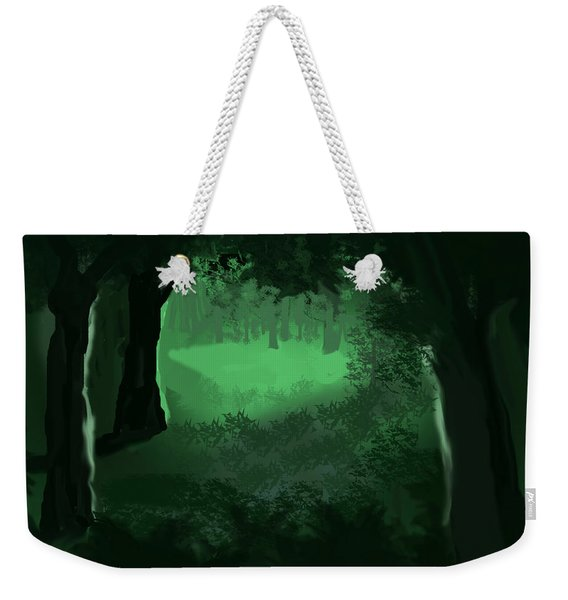 Light In The Forest Weekender Tote Bag