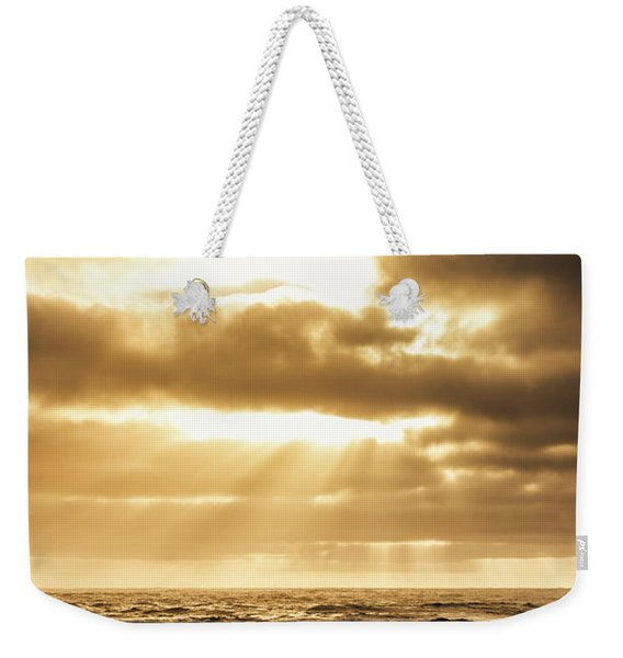 Light Of Dusk Weekender Tote Bag