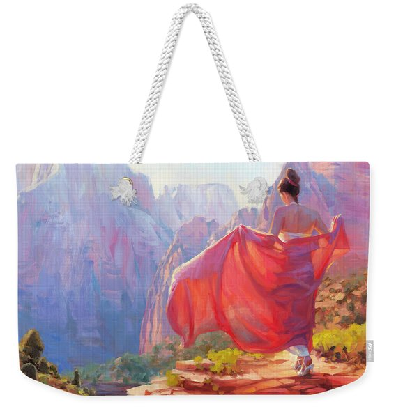 Light Of Zion Weekender Tote Bag