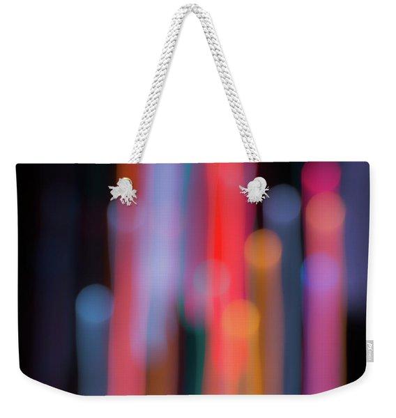 Light Painting No. 3 Weekender Tote Bag