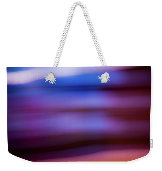 Violet Dusk Weekender Tote Bag