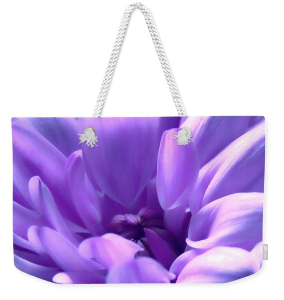 Light Purple Beauty Weekender Tote Bag