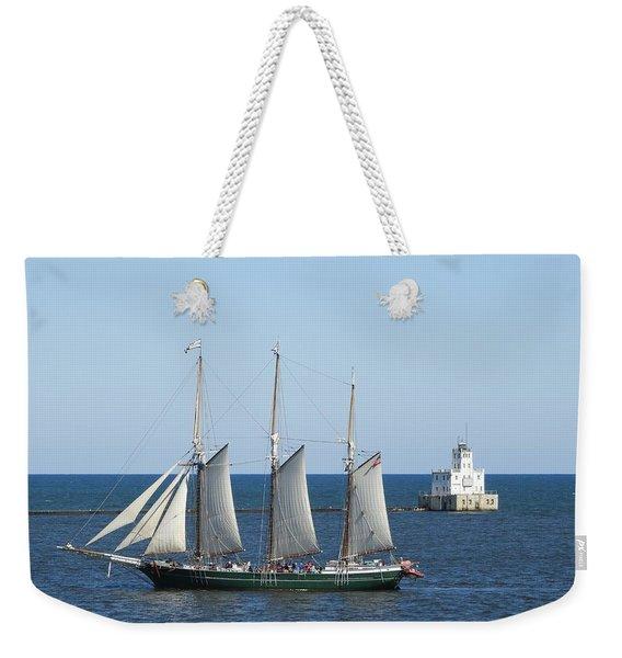 Light Sailing Weekender Tote Bag