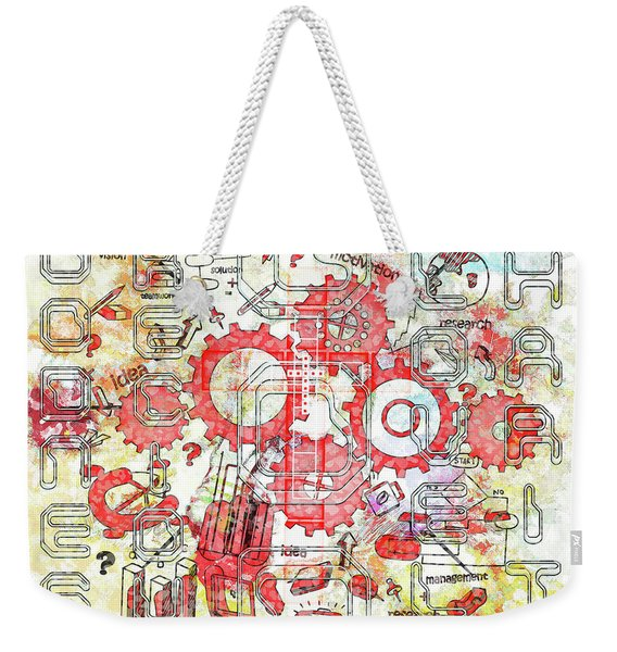 Light United Faith Weekender Tote Bag