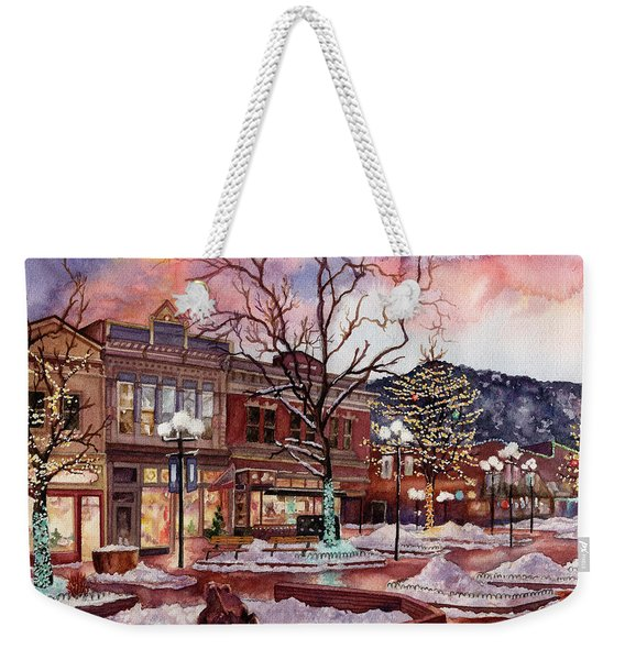 Light Up Heaven And Earth Weekender Tote Bag