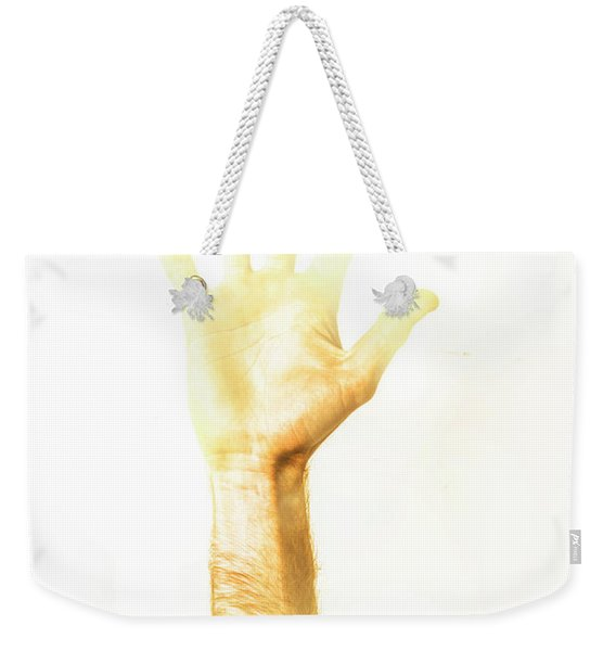 Light Worker Outreach Weekender Tote Bag