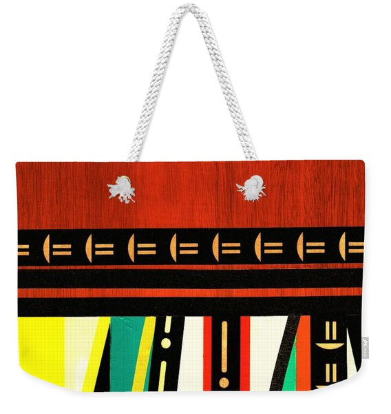 Lighten Up  Weekender Tote Bag