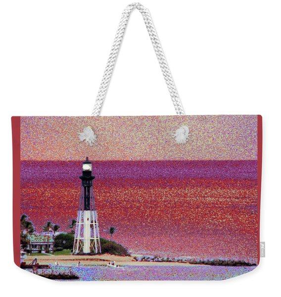 Lighthouse 1014 Weekender Tote Bag