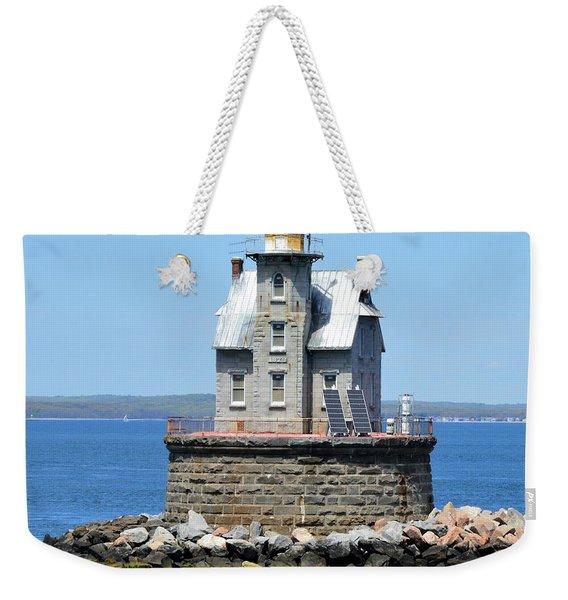 Lighthouse 2-c Weekender Tote Bag