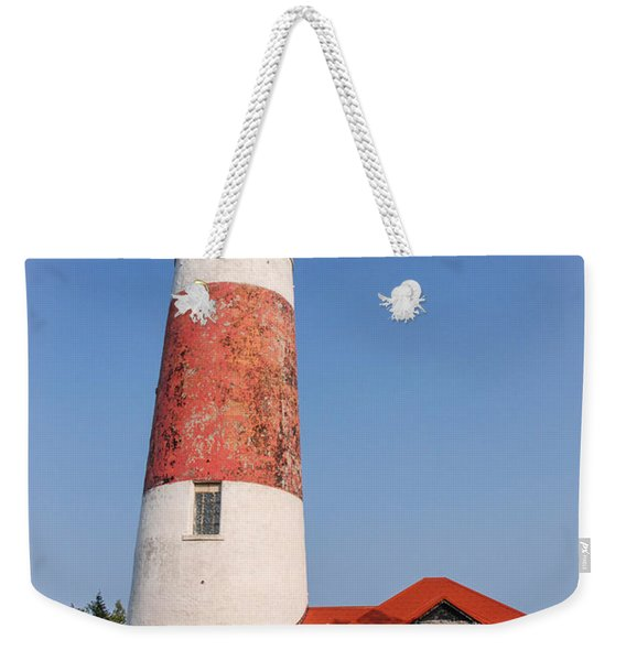 Lighthouse And Entry Weekender Tote Bag