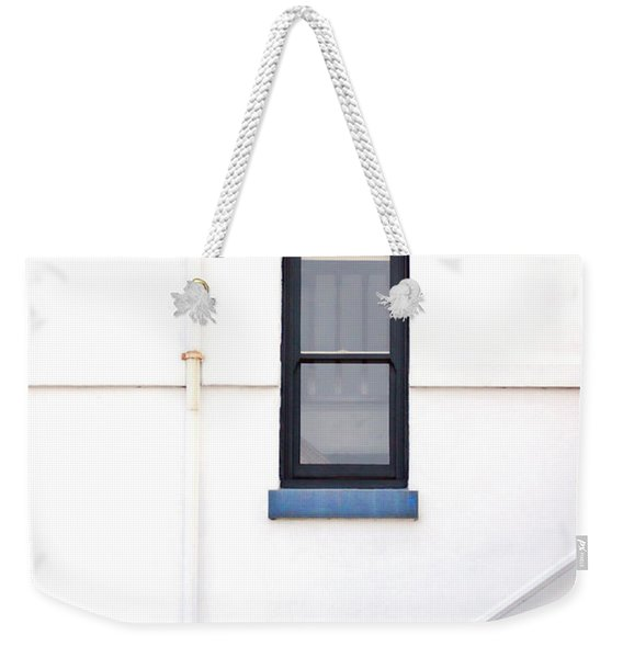 Lighthouse Door Window Detail Abstract Weekender Tote Bag