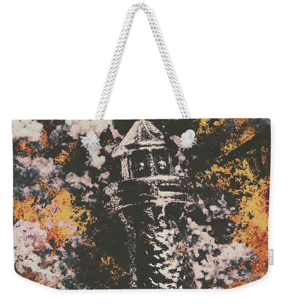 Lighthouse From Rust Harbour Weekender Tote Bag