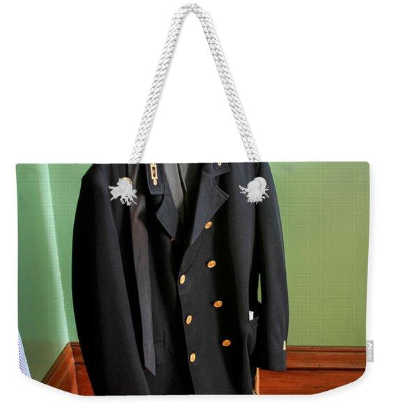 Lighthouse Keeper Uniform Weekender Tote Bag