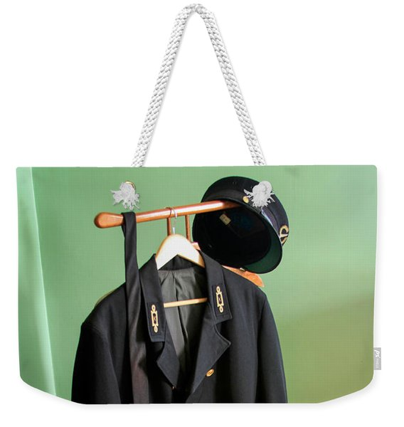 Lighthouse Keeper Uniform Weekender Tote Bag