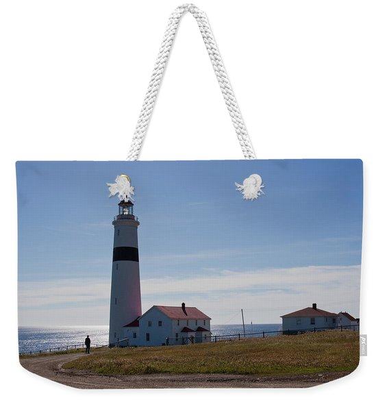 Lighthouse Labrador Weekender Tote Bag