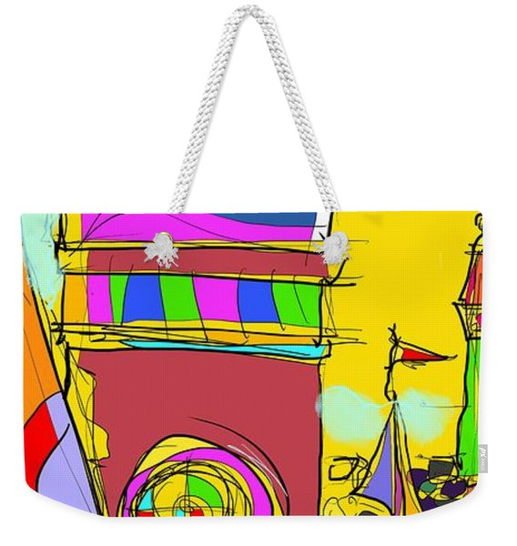 Lighthouse Landing Weekender Tote Bag