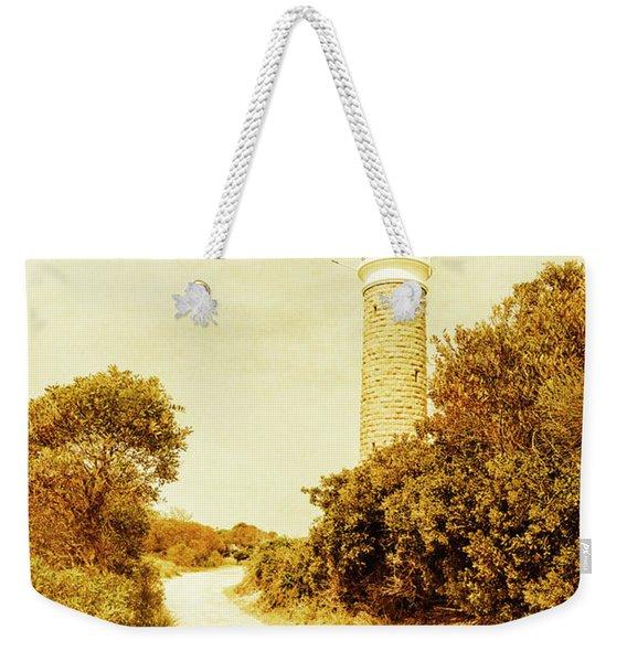 Lighthouse Lane Weekender Tote Bag