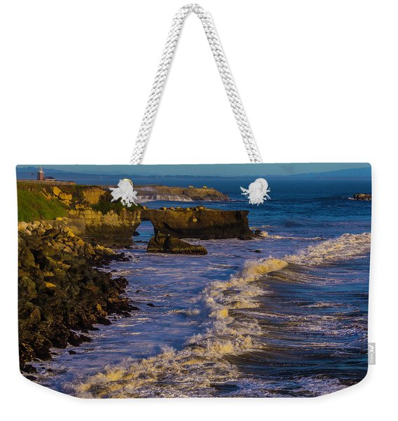 Lighthouse Point Weekender Tote Bag