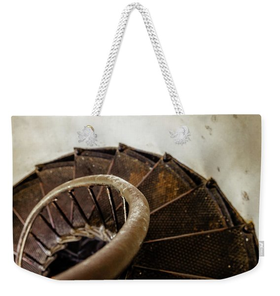 Lighthouse Stairs Weekender Tote Bag
