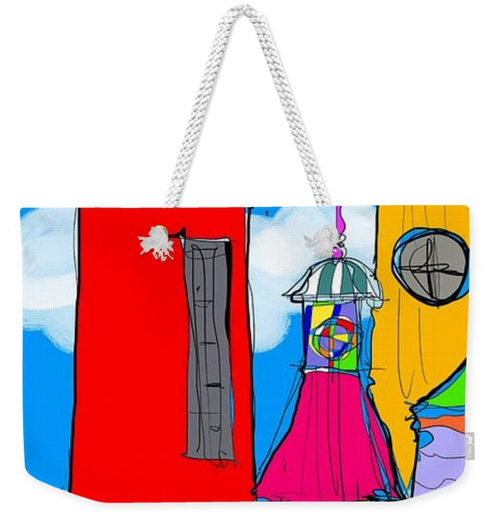 Lighthouse Carnival Weekender Tote Bag