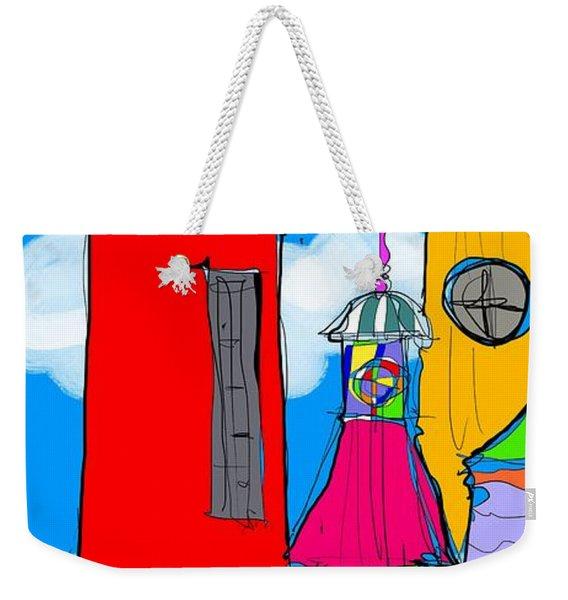 Lighthouse Carnival Weekender Tote Bag