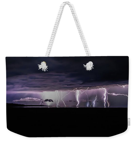 Fingers Of God Weekender Tote Bag