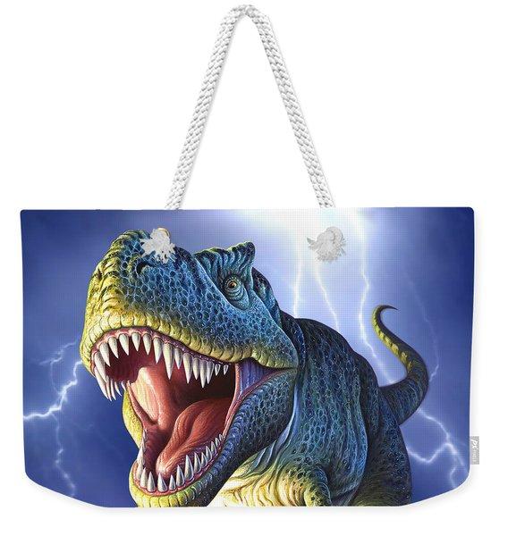 Lightning Rex Weekender Tote Bag