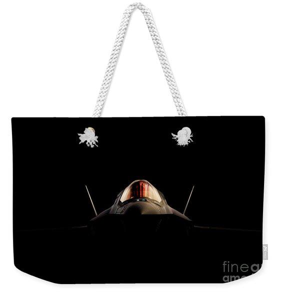 Lightning Shadows Weekender Tote Bag